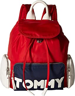Tommy Nylon Small Backpack