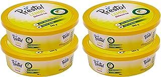 Amazon Brand - Presto! Dishwash Tub Bar with Free Scrub Pad - 500 g (Pack of 4)