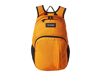 Dakine Campus Small 18L Backpack (Orange) Backpack Bags