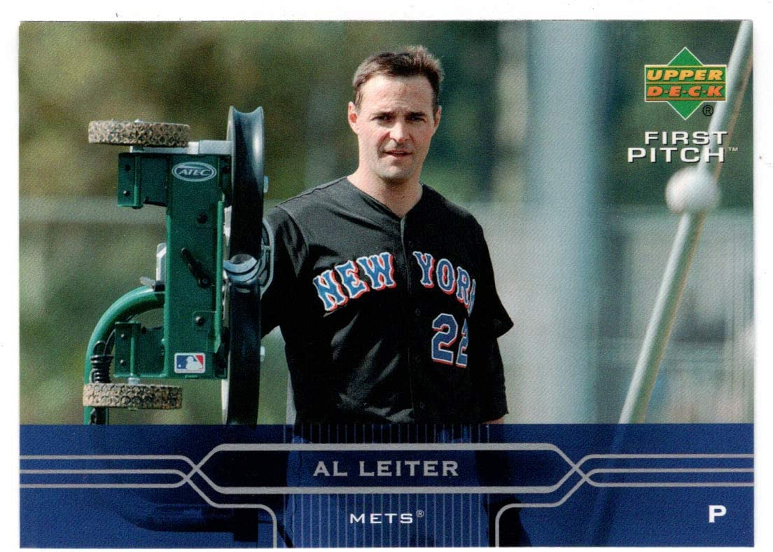 Al Leiter - New York Shipping included Mets First Upper Discount is also underway 2005 Baseball Deck Card
