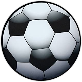 Soccer Ball Shaped Magnet - Car, Truck, SUV, or Refrigerator Magnet - Also Great For Lockers!