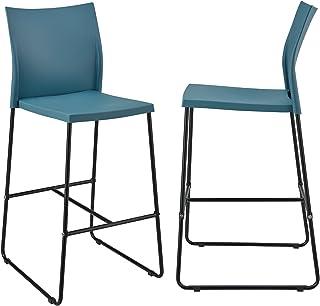 bc299824779e [en.casa]®] Set de 2 taburetes Altos - diseño - 107