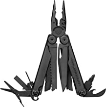 LEATHERMAN - Wave Plus with Cap Crimper Multitool with Premium Replaceable Wire Cutters and Spring-Action Scissors, Black