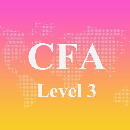 CFA Level 3 Exam Prep 2017 Edition