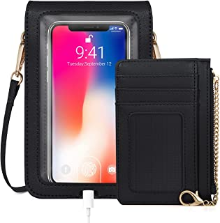 Sponsored Ad - IBFUN Cell Phone Purse, Crossbody Phone Bag Phone Wallet Purse For Women Crossbody Cellphone Bag
