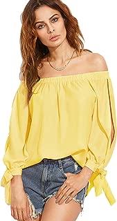 Best yellow summer blouse Reviews