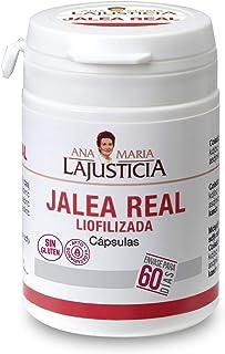 Ana Maria Lajusticia - Jalea real liofilizada – 60 cápsulas. Reduce el cansancio y la fatiga. refuerza el sistema inmunitario. Envase para 60 días