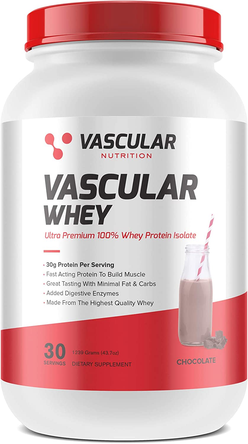 Vascular Nutrition Protein Isolate Great-Tasting Pro Chocolate Excellent wholesale