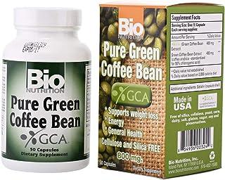 Bio Nutrition Bio N Pure Green Coffee Bean With Gca 50 Capsules, 800 Mg