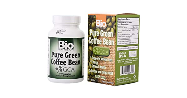 Bio Nutrition Bio N Pure Green Coffee Bean With Gca 50 Capsules