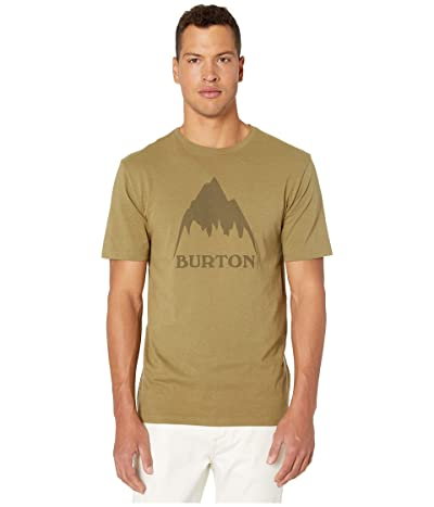 Burton Classic Mountain Short Sleeve Tee (Martini Olive) Men
