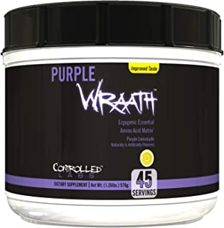 Controlled Labs Purple Wraath Purple Lemondae, 45-Servings, 1.26 Pounds (576 grams)