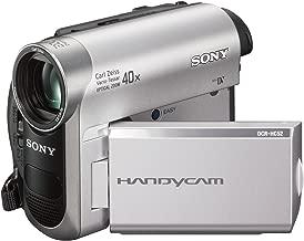 Sony DCR-HC52 MiniDV Handycam Camcorder with 40x Optical Zoom (Renewed)