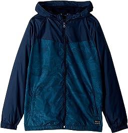 Traveler Windbreaker Jacket (Big Kids)