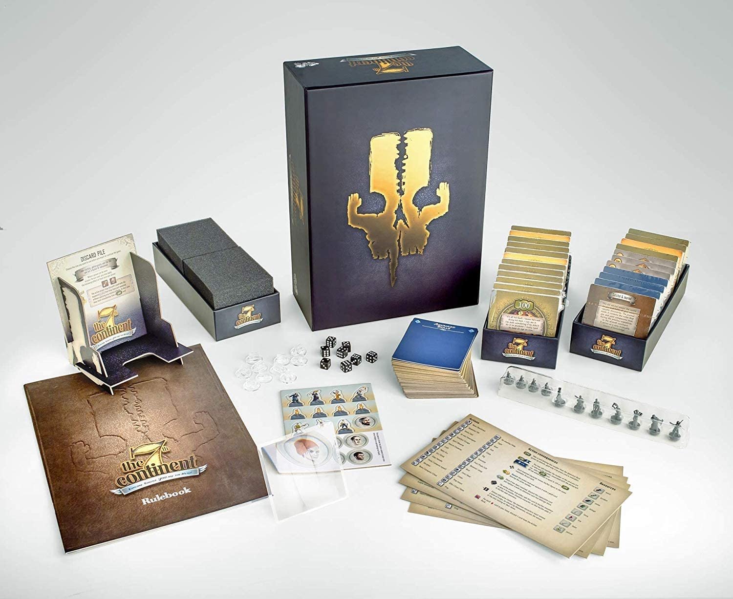 The 7th Continent Game Tabletop Board Mesa Great interest Mall