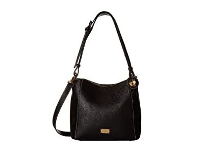 Frances Valentine June Small Hobo (Black) Handbags