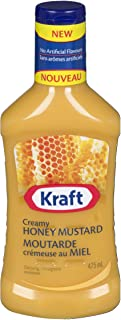 Kraft Creamy Honey Mustard Dressing, 475mL/16oz, Imported from Canada}