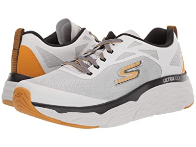 SKECHERS Max Cushion 54460 (Light Gray/Yellow) Men