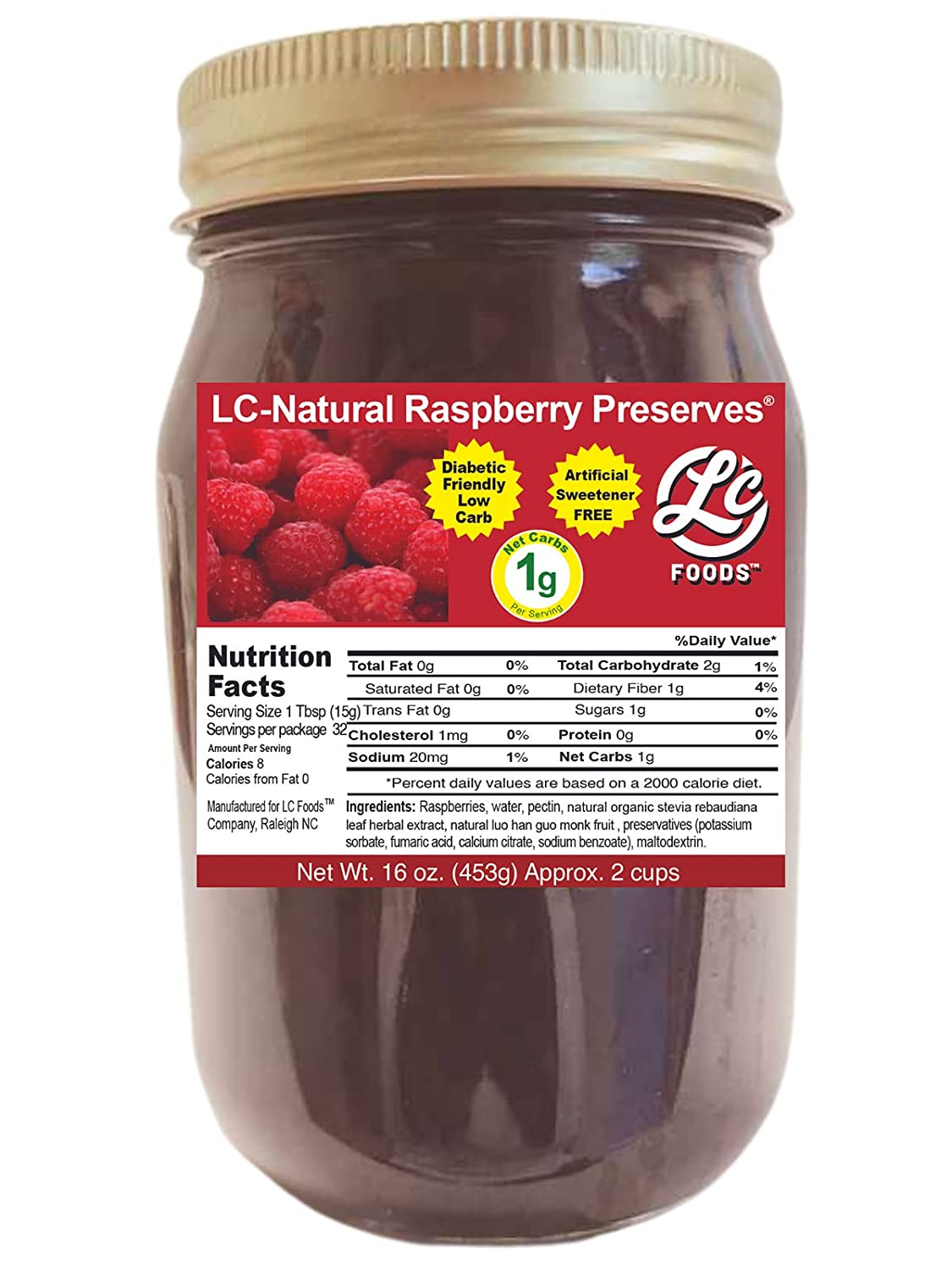Low Carb Foods Raspberry Preserves Prot Great High Ultra-Cheap Deals famous Taste Jam