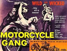 Posterazzi Motorcycle Gang 1957 Movie Masterprint Poster Print (28 x 22)