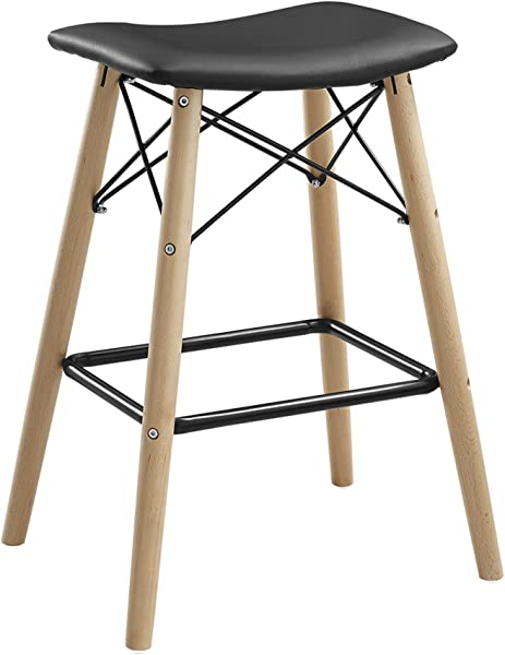 WE Furniture AZHRM26BL Counter Stool 26 Black