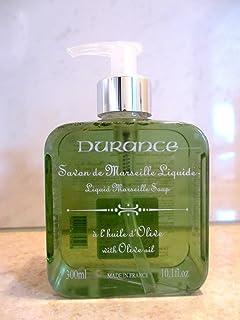 デュランス 【マルセイユ リキッドソープ】 オリーブ 300ml 微香 植物オイル100% / 洗顔 ボディ ハンド シェービング 全身に使える液体石けん / 南仏プロヴァンス