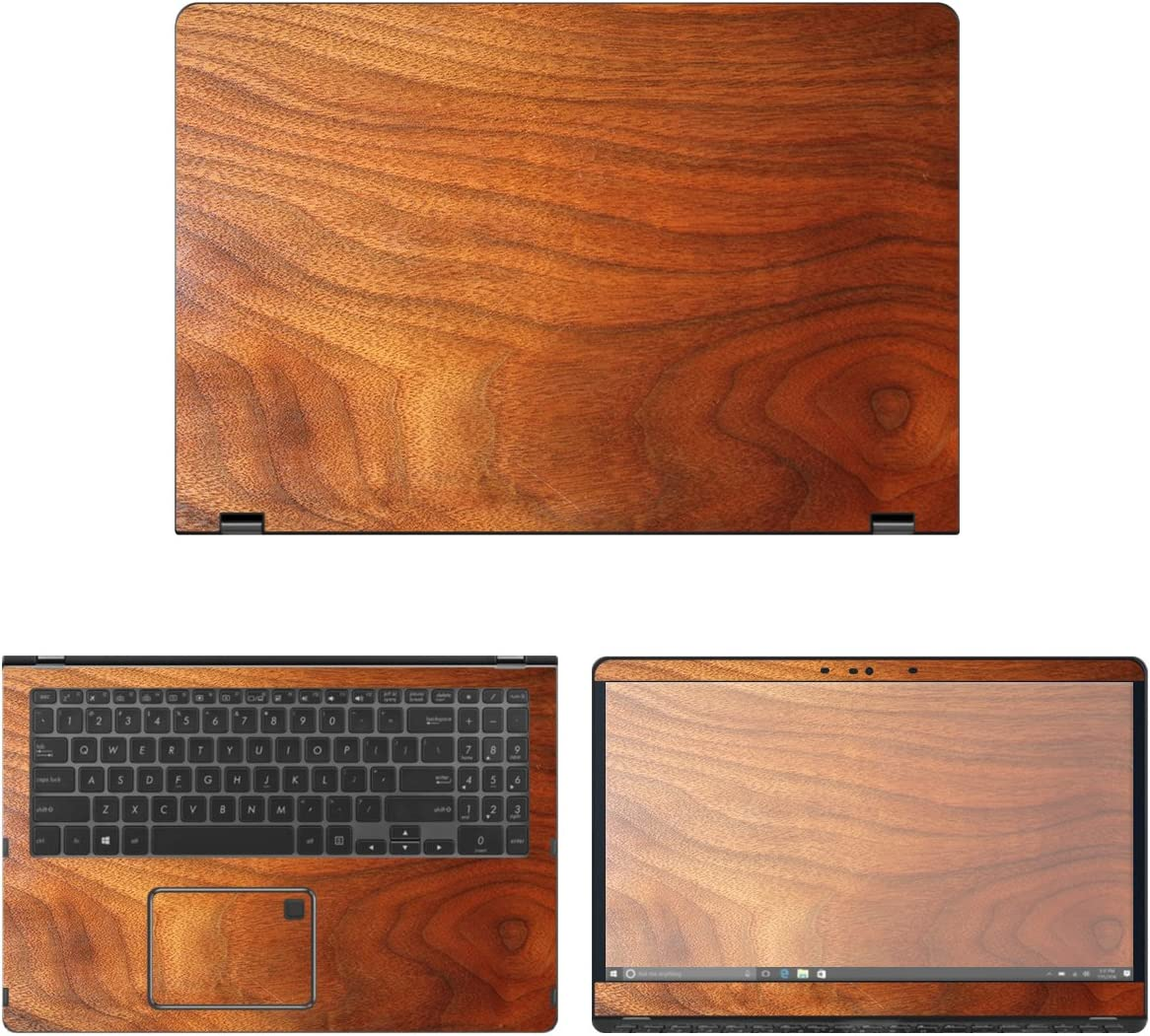 decalrus Purchase - Protective Decal Free Shipping New Wood Skin Asus for Q525UA 2- Sticker