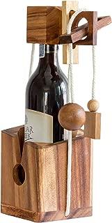 wooden bottle puzzle instructions