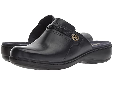 Clarks , NAVY LEATHER