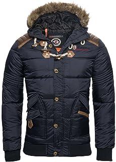 comprar comparacion Geographical Norway Chaqueta de invierno para hombre, acolchada