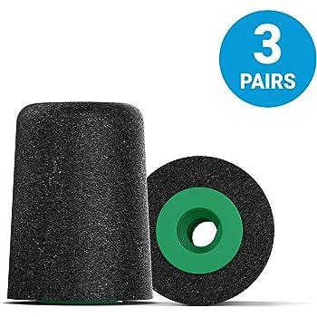 Comply T-600 Isolation 3 Pares de Almohadillas para Auriculares - Negro Tallas S//M//L Variadas