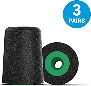 Comply Professional Noise Isolating Earphone Tips for NuForce, ISOtunes PRO, Q-Jays, Etymotic Research, Westone, Shure & More P-Series Memory Foam Replacement Earbud Tips (Small, 3-pairs)