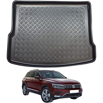 10-15 Nomad Auto Tailored Fit Durable Black Boot Liner Tray Mat Protector for VW Sharan