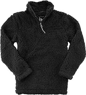 boxercraft unisex sherpa quarter zip pullover
