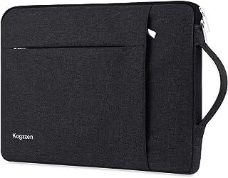 """Kogzzen 15-16インチ ラップトップスリーブケース 防震 防水 手提げカバン PCインナーバッグ MacBook Pro 16""""/15""""/ Surface Laptop 15""""/ Surface Book 2 15""""対応 15インチ用ノートパソコン ウルトラブック/タブレット/Chromebook/Dell/HP/Sony/Acer/Samsung/Lenovo/東芝/富士通 (ブラック)"""