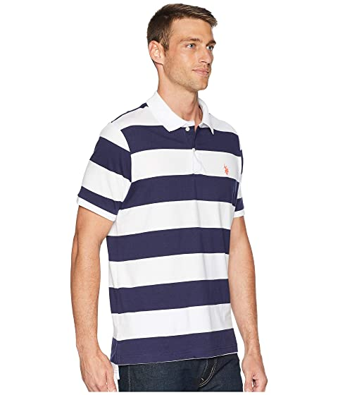 POLO Shirt S Jersey Stripe U ASSN Polo 57HxBO