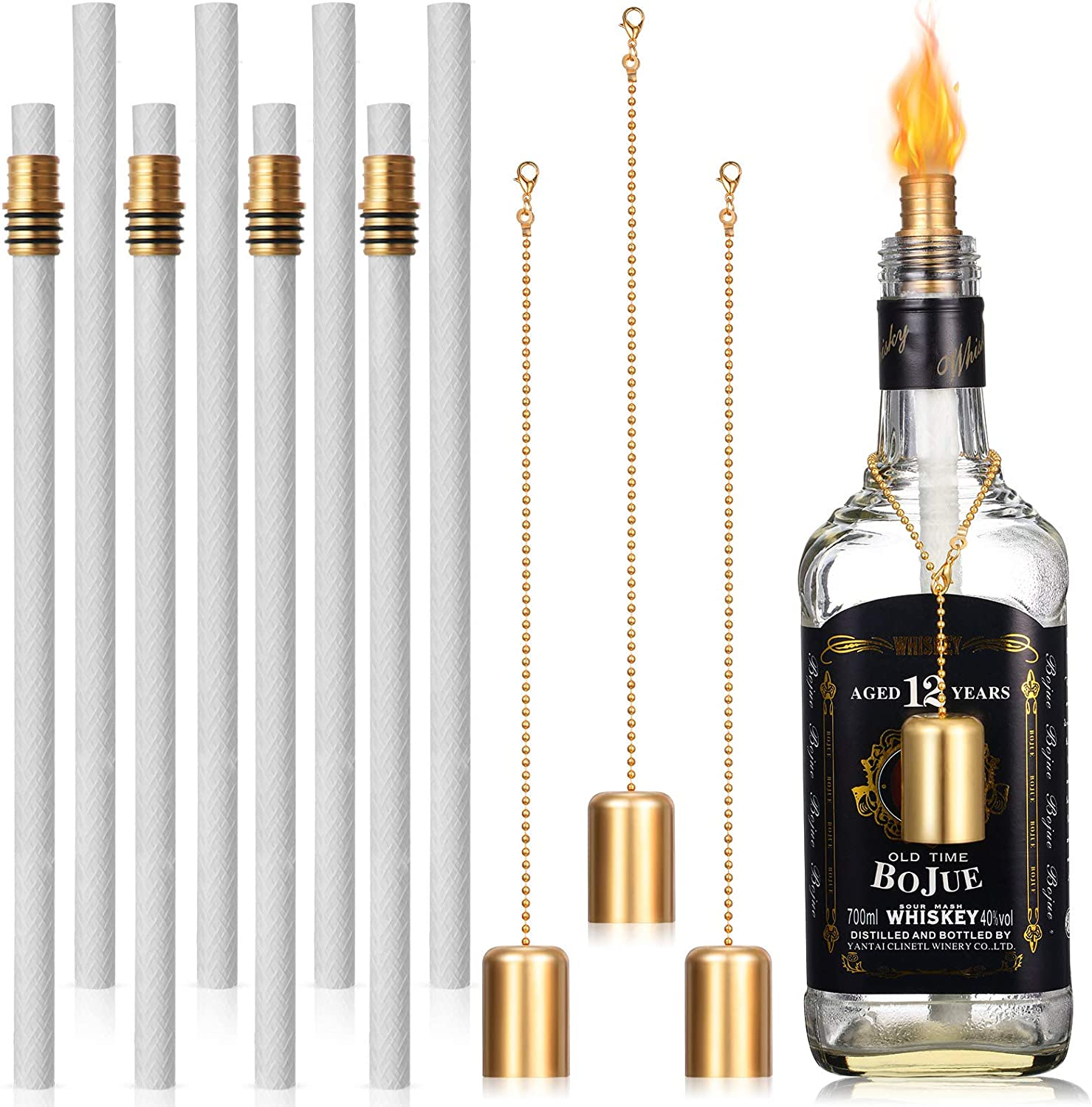 Long-awaited Nuanchu Wine Bottle Torch Hardware Brass Animer and price revision Include Kit Wick