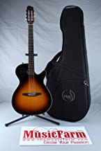 Godin Multiac Steel Series 035953 Hollow-Body Duet Ambiance Electric Guitar, Sunburst HG