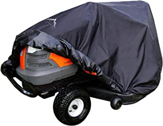 Himal Pro Lawn Mower Cover - Heavy Duty 600D Polyester Oxford, Waterproof, UV Resistant, Universal Size Tractor Cover Fits...
