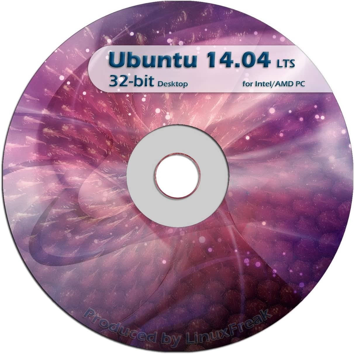 Ubuntu Linux 14.04 DVD - Long Support Term Low price 32-bit OFFICIAL El Paso Mall rel