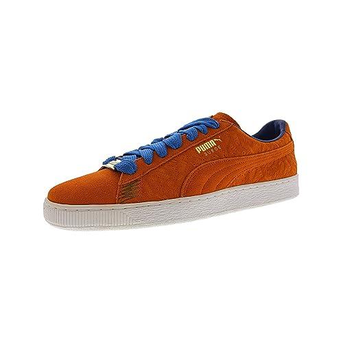 7727facf0bddd1 Puma Mens Classic Seoul Low Top Lace Up Fashion Sneakers