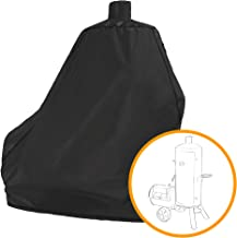 i COVER Smoker Grill Cover-Sized for Dyna-Glo Vertical Offset Smoker Grill DGSS1382VCS-D DGSS1382VCS Heavy Duty Waterproof Canvas Charcoal Smoker Cover Black G21641