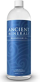 Ancient Minerals Magnesium Oil Refill Bottle of Pure Genuine Zechstein Magnesium Chloride - Topical Magnesium Supplement f...