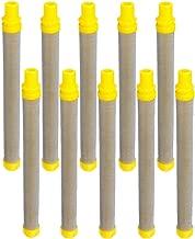 GSHFIGHTING 10PCS Replacement Wagner Titan Fine Mesh Airless Spray Gun Filters 100 Mesh Replacement Following Wagner Filter 89324 0089324 0154675 154675 0516732