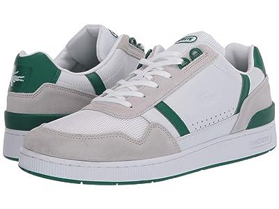 Lacoste T-Clip 120 3 US (White/Green) Men