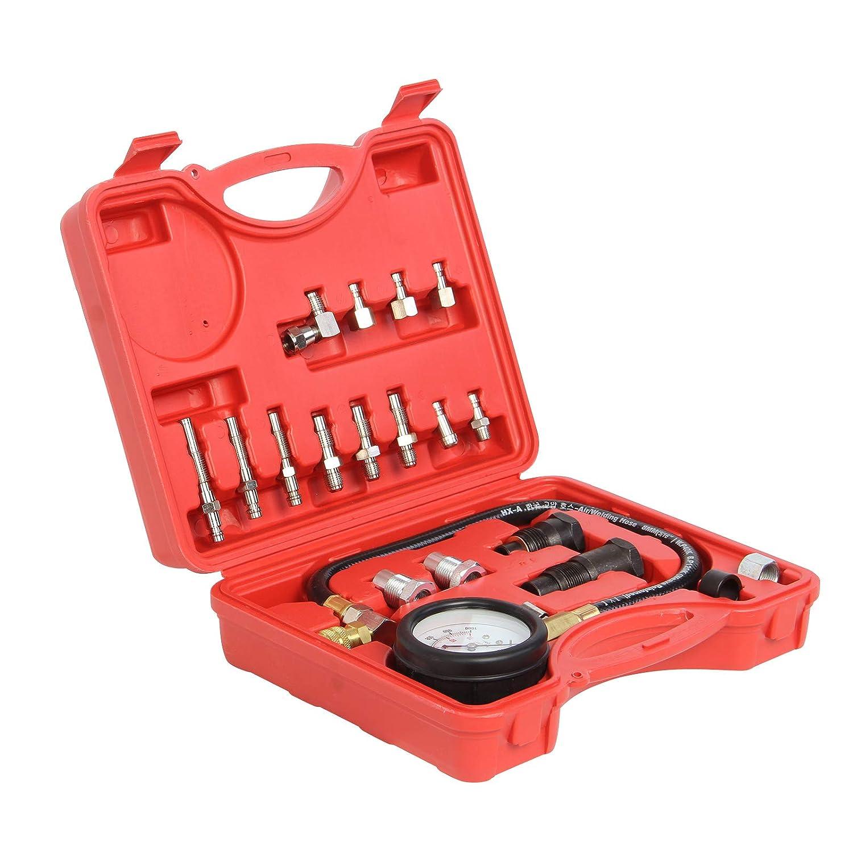 24PCS Diesel Engine Compression Manufacturer direct delivery Tester High order Automotive Tool Set Gauge