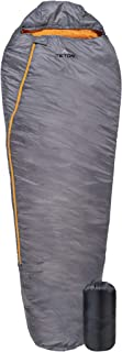 TETON Sports Outpost Sleeping Bag; Lightweight Backpacking Sleeping Bag for Hiking and Camping Outdoors in Warm Weather; Never Roll Your Sleeping Bag Again; Stuff Sack Included