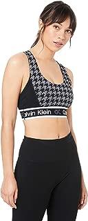 Calvin Klein Women's Houndstooth Crossback Bra