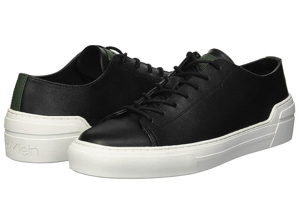 Calvin Klein Octavian (Black Smooth Calf Leather) Men