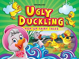 Ugly Duckling Pop Up Fairy Tales Book for Children Age 3 - 7 Years